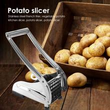 Potato Chips Slicer Machine Stainless Steel Fashionable Atmosphere Home Essential Supplies French Fries Cutter Kitchen Gadget
