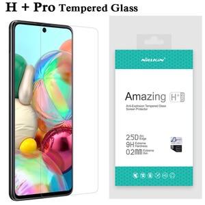 Image 1 - Originale Per Samsung Galaxy A71 Vetro Temperato A71 Nillkin Incredibile H & H + Pro Protezione Dello Schermo Per La Galassia A51 pellicola protettiva A515F