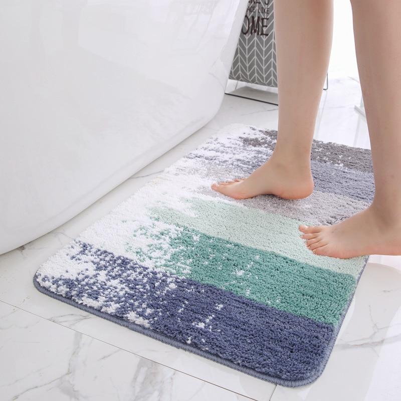 Non Slip Bath Mat Bathroom Carpet,Tapis Salle de Bain,Mat in the Bathroom Comfor