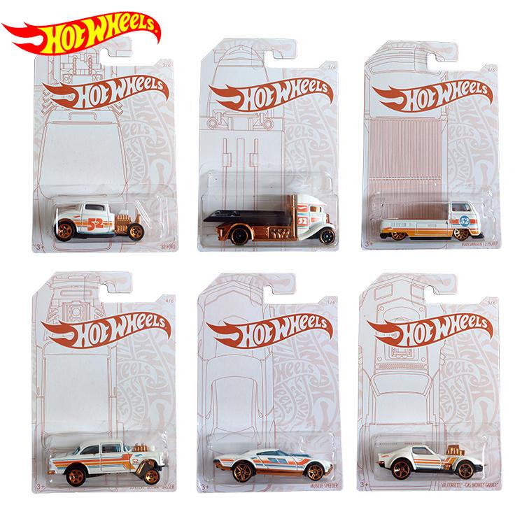 Original 52th Anniversary Hot Wheels Car Toys for Boys 1/64 Diecast Hotwheels Car for Boys Juguetes Collector's Edition