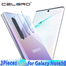 Glass for Samsung Galaxy Note 10 Plus 10+ Protective Glass on Galaxy Note10 Back Camera Lens Glass for Samsung Note10 pro Glass