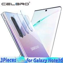 Szkło do Samsung Galaxy Note 10 Plus 10 + szkło ochronne na Galaxy Note10 aparat z tyłu szklana soczewka do Samsung Note10 pro szkło