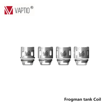 Tête de noyau Vaptio Frogman, 20/15/10/5 pièces, pour réservoir/mur Frogman, résistance de la tête de bobine