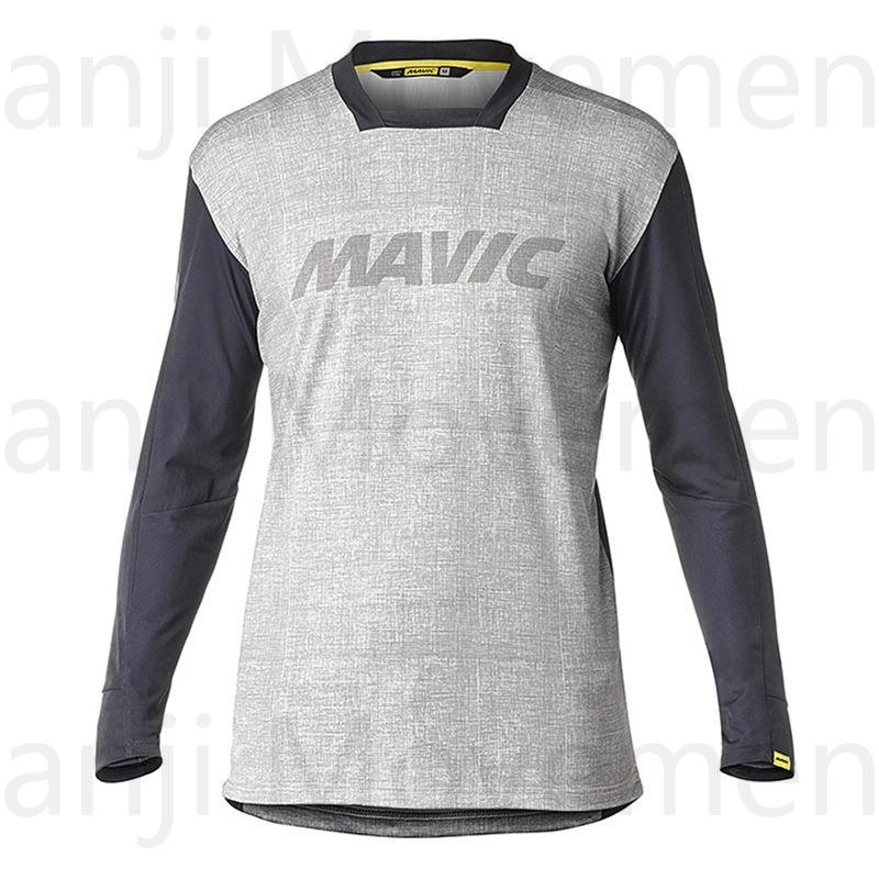 Mavic New Racing  Downhill Jersey Mountain Bike Motorcycle Cycling Jersey Crossmax Shirt Ciclismo Clothes For Men MTB MX T Shirt