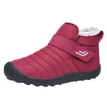 Snow Boots winter keep warm Lager Size Warm Non-Slip Cotton Boots Women short booties lady Winter Hiking Cotton Plus Shoes(China)
