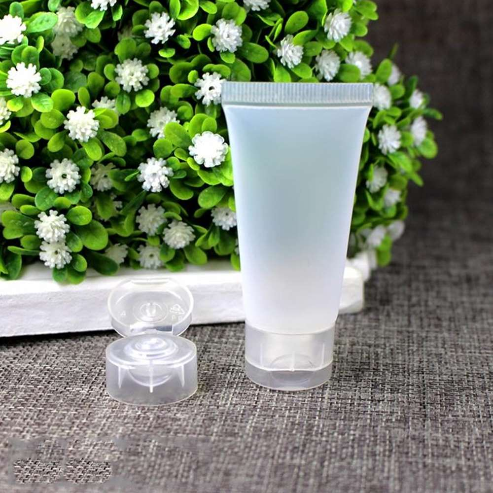 10/20/50pcs 50ml Plastic Empty Tube Squeeze Cosmetic Container Small Hand Cream Lotion Containers Bottle Makeup Tool