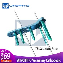 Orthopedic-Instruments Osteotomy-Plates Pet-Surgical-Tools Veterinary Plateau TPLO Tibial
