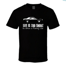 Men t shirt 1970 Dodge Challenger Rt 440 7 2 V8 Life Is Too Short Car Lover  t-shirt novelty tshirt