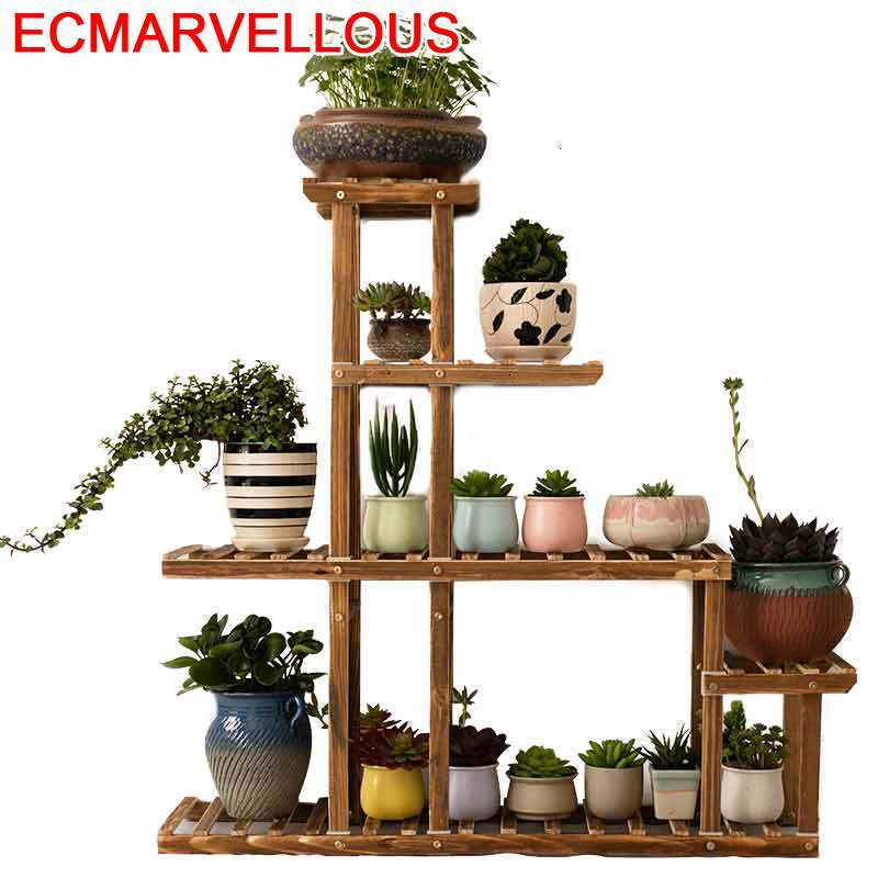 Estanteria Macetas Repisa For Estante Para Plantas Suporte Flores Outdoor Flower Shelf Stojak Na Kwiaty Dekoration Plant Stand