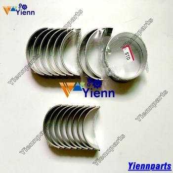 Dla KUBOTA D1005 główne łożysko wału korbowego i zestaw łożysk korbowodu pasuje KUBOTA R1-191 211 221 241 A17 A175 GB170 GB175 ciągniki silnik tanie i dobre opinie Yienn Aluminums D1105