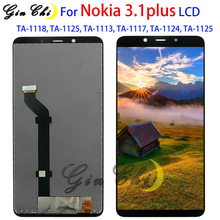 Para Nokia 3,1 plus LCD pantalla digitalizador Panel táctil para Nokia 3,1 plus LCDTA 1118, TA 1125, TA 1113 TA 1117 TA 1124.