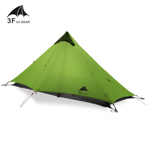 Image 1 - 3F UL GEAR Lanshan 1 Tent Oudoor 1 Person Ultralight Camping Tent 3 Season Professional 15D Silnylon Rodless Tent