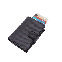BYCOBECY Arrival PU Leather Credit Card Holders Aluminum Women and Men 2020 New Vintage ID Wallets High Quality Card Holder RFID bycobecy arrival pu leather credit card holders aluminum women and men 2019 new vintage id wallets high quality card holder rfid