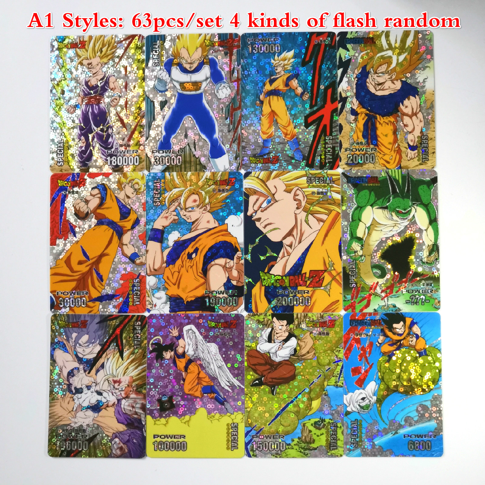27 Styles Dragon Ball Z Super Ultra Instinct Limit BREAK  Commemorative Edition Game Flash Card Collection Anime Cards