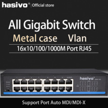 16 Poort RJ45 Alle Gigabit Ethernet Switch Lan Switch Ethernet Switch