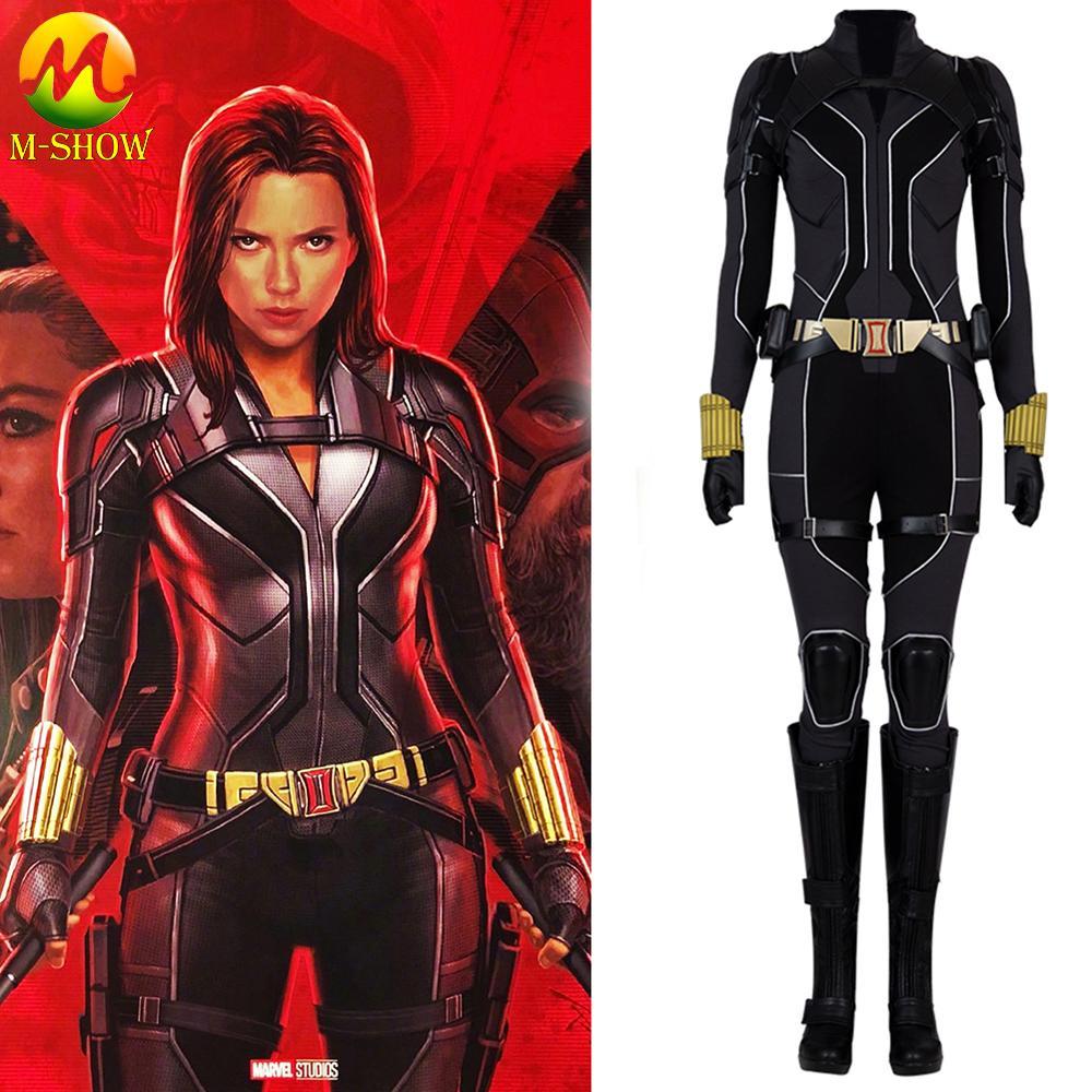 Big Sale 216fe 2020 Movie Black Widow Cosplay Costume