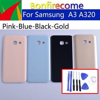 A320 For Samsung Galaxy A3 2017 A320 A320F SM-A320F/DS SM-A320Y/DS Back Housing Battery Cover Back Cover Case Rear Door Chass image