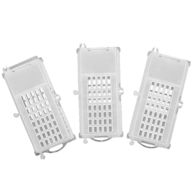 Bee Tools Bee Transport Cages Beekeeping Equipment Queen House Beehive White Transparent Queen Bee Cage 100 Pcs