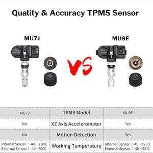 Image 5 - Deelifeアンドロイドtpms車のラジオdvdプレーヤータイヤ空気圧監視システムスペアタイヤ内部外部センサーusb tmps