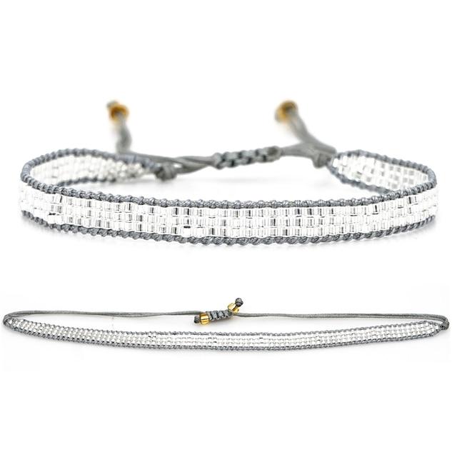 Фото rttooas серебряная звезда miyuki браслет женские модные ювелирные