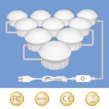 Светодиодная лампа с регулируемой яркостью косметическое зеркало