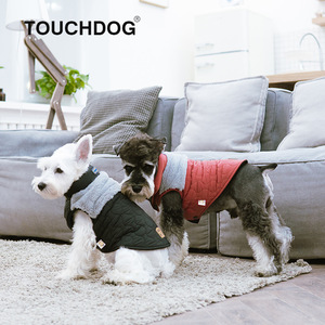 Touchdog autumn and winter new dog vest weatherproof clothing cat clothing