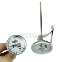120C Instant Read Probe Thermometer BBQ Gauge Food Cooking Meat Stainless Steel