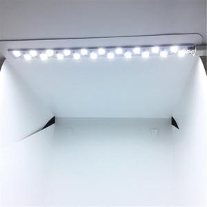 Image 4 - 40 x 40 x 40 cm Photo Studio Box Photography Backdrop Built in Light Photo Box Little Items Photography Box Studio Accessories