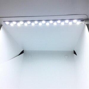 Image 4 - 40x40x40 cm תמונה תיבת סטודיו צילום רקע תאורה מובנה תמונה תיבת קטן פריטים צילום תיבת סטודיו אבזרים