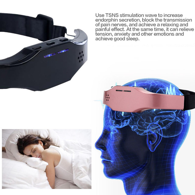 Heyfitae™ Head Massager Sleep Monitor Migraine Relief & Insomnia Therapy Device 4