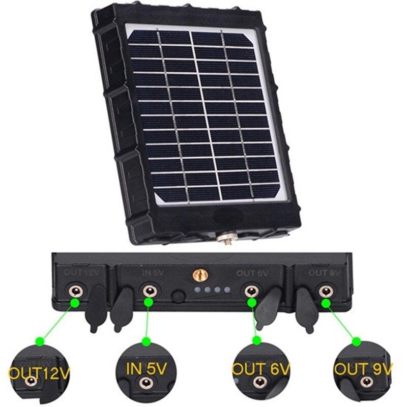 4G Охота Камера Панели солнечные BL480L-P фото ловушки Панели солнечные 8000 мАч 3W алюминиевый полимерный аккумулятор для охоты Камера 4G