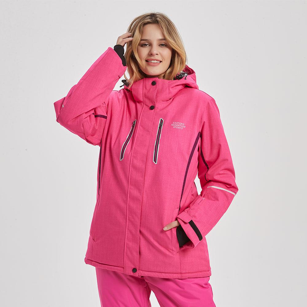 Brands Ski Jacket Women Winter Thicken Waterproof Windproof Super Warm Female Coat Outdoor Women Skiing And Snowboarding Jacket