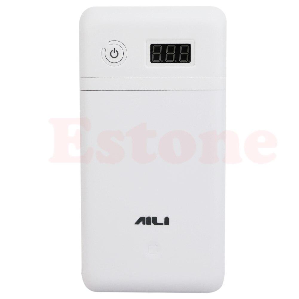 Portable universel batterie externe 20V UPS 6 18650 Batterie chargeur pour ordinateur portable Iphone LX9A