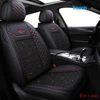 Ynooh housses de siège de voiture pour nissan leaf x trail t30 navara d40 almera n16 primera p12 terrano teana j32 classique un protecteur de voiture