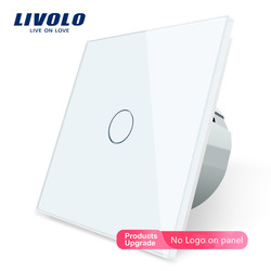 Livolo luxury Wall Touch Sensor Switch,Light Switch,Crystal Glass,Power Socket,multifunctional sockets, Free Choice,no logo