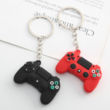 New Men's Simple Video Game Handle Keychain Couple Joystick Machine KeyChain Keyring for Boyfriend Key Holder Trinket Gift  2020