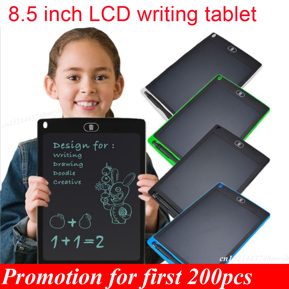 8.5 Inch LCD Writing Tablet Electronic Drawing Doodle Board Digital Colorful Handwriting Pad Drawing Graphics Kids Birthday Gift
