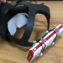 Storage-Holder Power-Bank Oculus Quest Stand Vr-Headset-Spare-Parts Portable for 3d-Printing