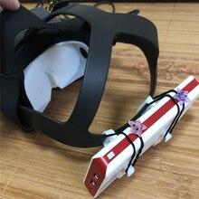 Support de stockage portatif de support de batterie externe dimpression 3D pour des pièces de rechange de casque doculus Quest VR