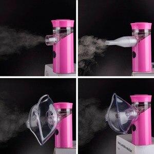 Image 5 - Health Handheld mini nebulizer medical atomizer asthma child silent inalador nebulizador Children Adult Automizer Dropshipping
