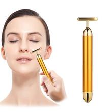 Small Size Energy Beauty Bar Face Massage Tool Facial Beauty Roller Vibration Massager Stick Lift Skin Tightening Wrinkle Bar