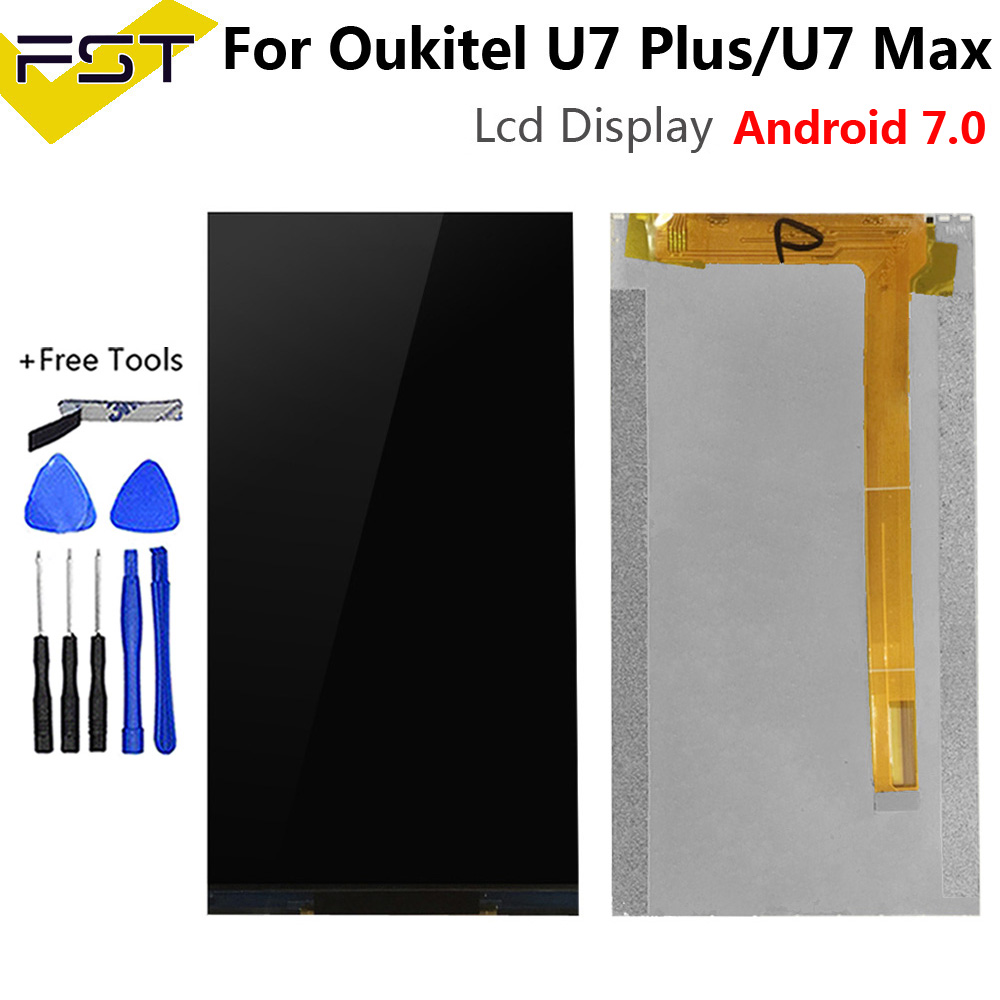 For Oukitel U7 Plus/U7 Max LCD Screen Display For U7 Plus Lcd Display+Touch Screen Digitizer Assembly+Tools Fit Android 7.0