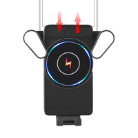 Removable10W Wireless Car Charger ,Suitable for Samsung S10 S9 iPhone X Xr Xiaomi Qi wireless charger car phone holder