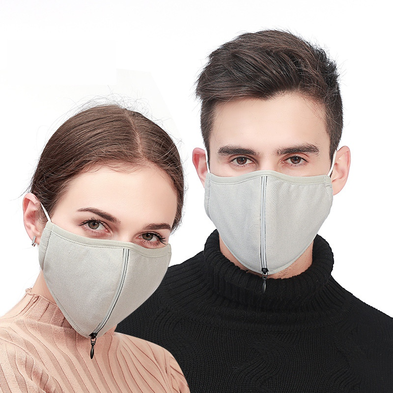Dust And Ventilation Adjustable PM 2.5 Face Masks Anti Haze Mouth Mask Washable Easy Breathable Mask Hot Sell USA Stock