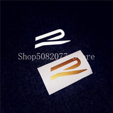 2021 стильная R наклейка для письма для VW GOLF 8 Magotan Lamando CC GTI автомобильный Стайлинг крыло ствол окно руль логотип наклейка