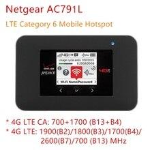 Разблокированный нетгир AC791L Jetpack AC 791s AC1200 мини 3g 4g wifi роутер слот для sim-карты 4340 мАч otg маленький портативный USB внешний аккумулятор Ch