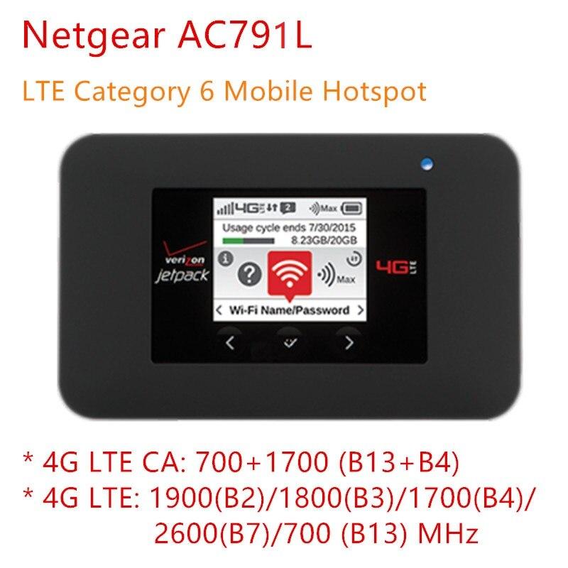 unlocked Netgear AC791L Jetpack AC 791s AC1200 mini 3g 4g wifi router sim card slot 4340mah otg small portable USB power bank Ch