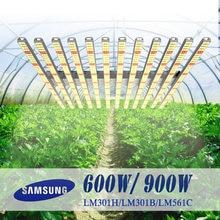 Led grow light bar quantum tech board samsung lm301h 600w 900w
