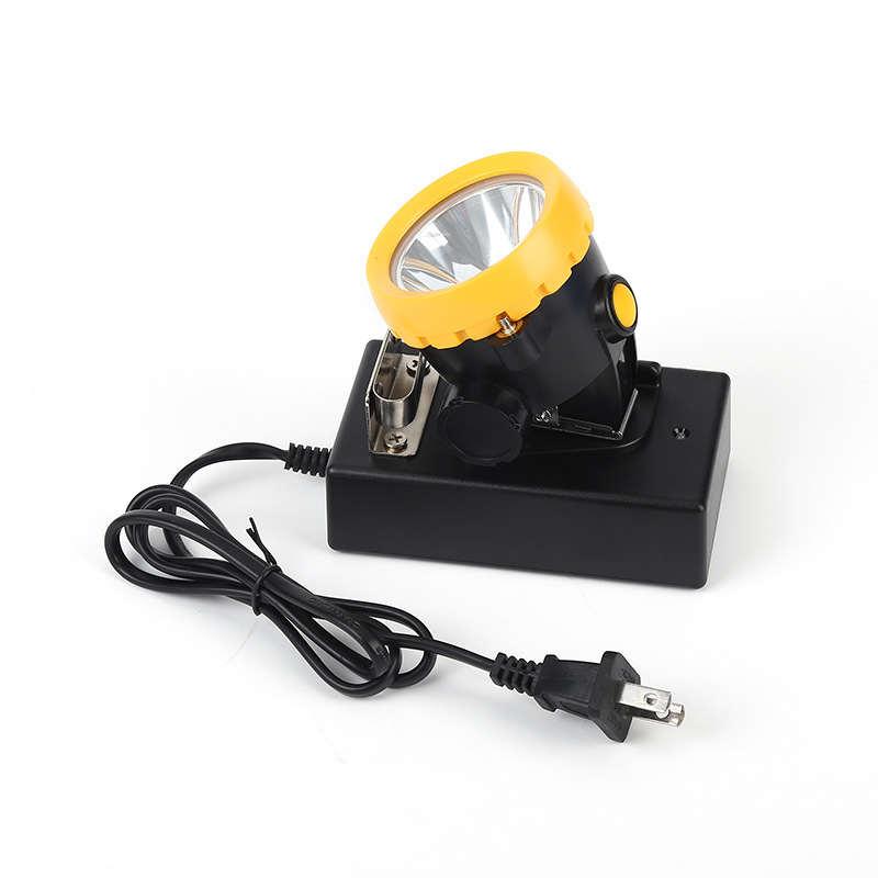 BK2000 3W 3500LX LED Battery Miner Mining Cap Lamp Headlight Mine Light Lithiumion Headlamp Withcharger For Fishing Hunting Etc.