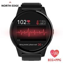 NORTH EDGE Smart PPG+ECG Blood Pressure Men Women Watches Fitness Tracker Heart